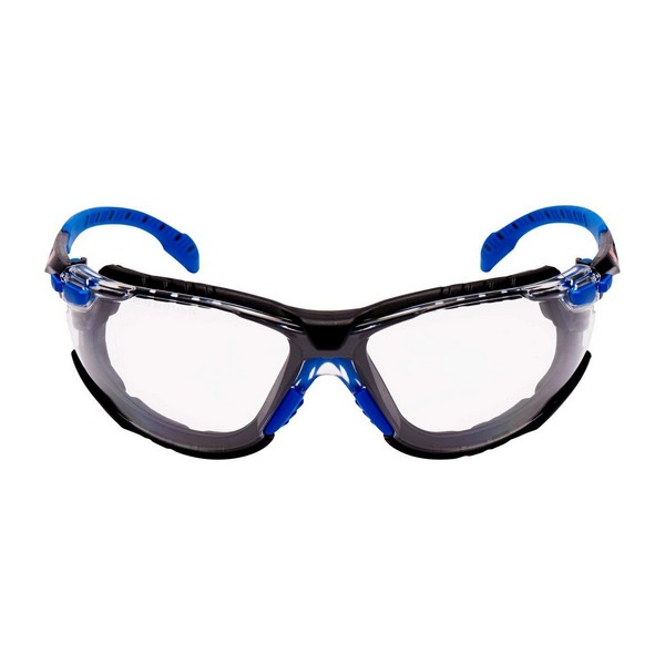 3M Solus 1000 Series Kit Blue Black Frame Safety Glasses. Hover to zoom 04d18e30b711